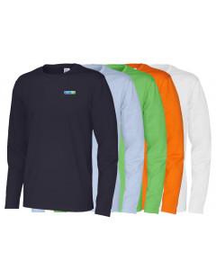 Ekologisk Herr-T-shirt-lång ärm