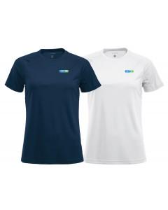 Funktions T-shirt, dam
