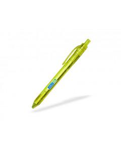 Bläckpenna miljö PET Lime, 10-pack
