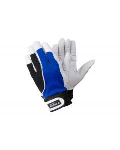 Tegera13 - ofodrad läderhandske, 12-pack