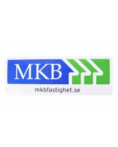 MKB vinylklistermärke, 25x9,2cm-5pack