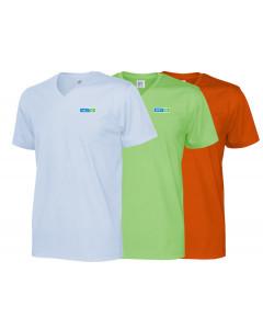 Ekologisk T-shirt, herr